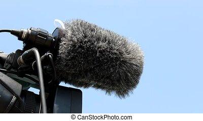 digital video camera microphone