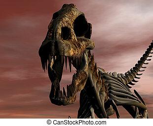 T Rex - Digital visualization of a T Rex