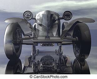 digital visualization of an automobile