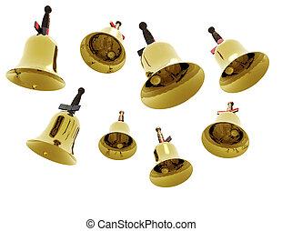 jingle bells - digital visualization of jingle bells