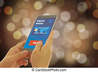 digital wallet - A digital wallet to pay for goods and...