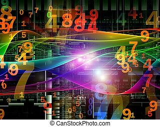 Digital Wave Background