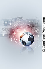digital web interface