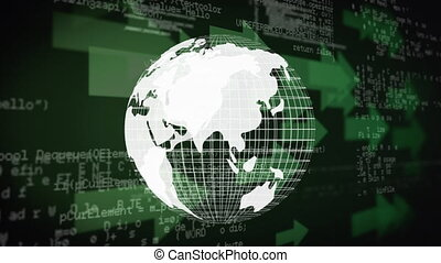 digitale , globe
