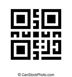 digitale informatie, qr, code