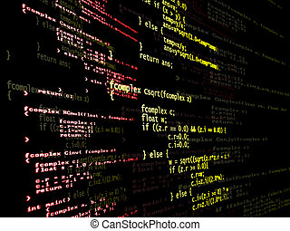 digitale, programma, codice