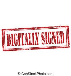 digitalement, signed-stamp