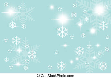 Digitally created illustration of Christmas background with...