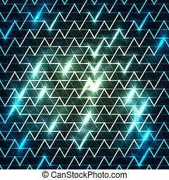 digitally generated image moving fast background