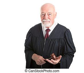 dignité, juge