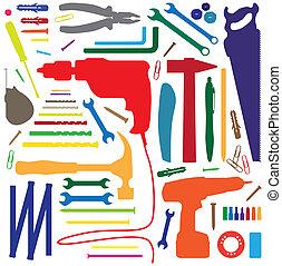 diiy tool - silhouette illustration