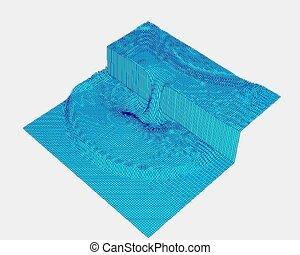 Dike breaking - The mathimatical modeling of a dike breaking