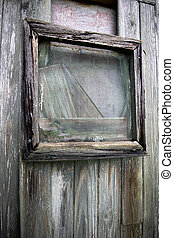 Dilapidated timber windows - Dilapidated boarded up rotten ...