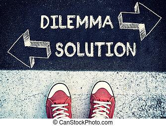 dilemme, solution