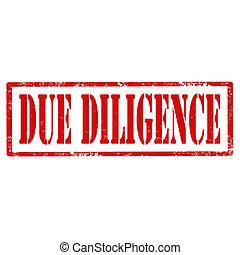 diligence-stamp, в связи