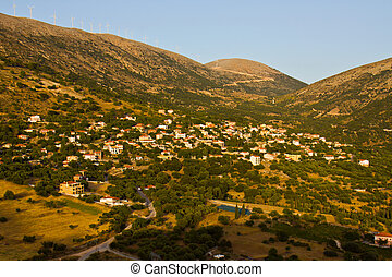 'dilinata', tradiotinal, île, grèce, village grec, kefalonia