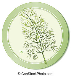 Dill Herb Icon