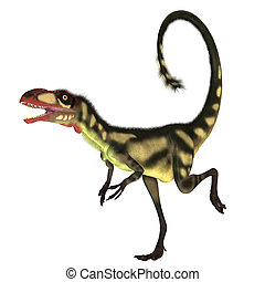 Dilong Dinosaur01 - This dinosaur is a small size version of...