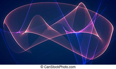 dimension graph mix blue purple