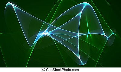 dimension graph mix green