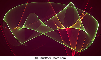 dimension graph mix red