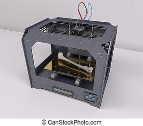 dimensional, 3, impresora