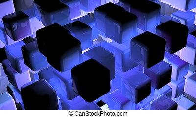 dimensional cubes texture