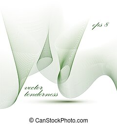 Dimensional motif elegant flowing curves, passion background in