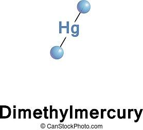 Dimethylmercury organomercury compound.