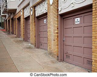 Diminishing Garage Doors