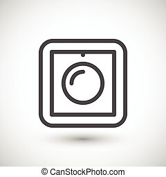 Dimmer line icon