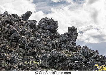 Dimmuborgir Lava Landscape