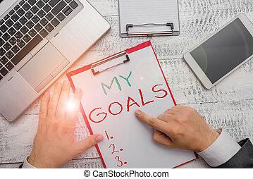 dimostrare, desiderato, goals., futuro, mio, concettuale,...