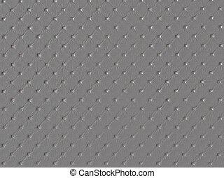 dimpled, stoff, hintergrund, beschaffenheit, grau