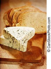 dinamarquês, queijo azul