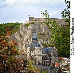 Dinant Citadel in Autumn