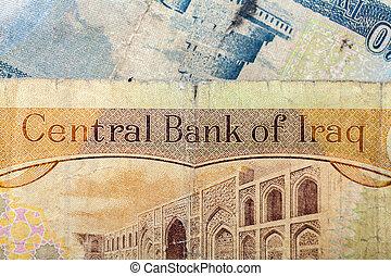 dinar, av, irak