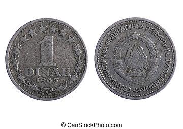 dinar, mynter