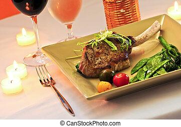 diner, kalfsvlees