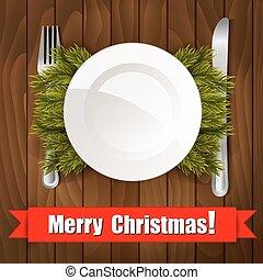 diner, kerstmis