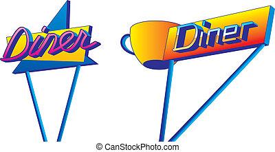Diner Signs