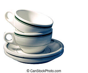 Diner Ware - Hercules vitrified restaurant, ware, coffee cup...