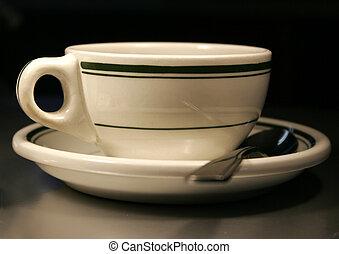 Hercules vitrified restaurant ware, coffee cup