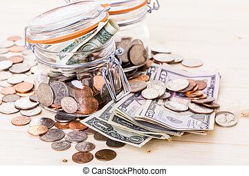 dinero, ahorro
