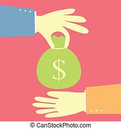 dinero, elasticidad