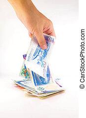 dinero, hong kong