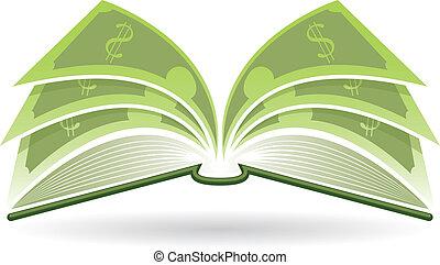 dinero, libro