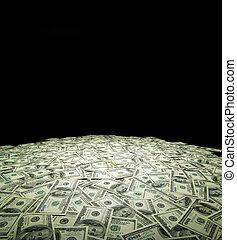 dinero, plano de fondo