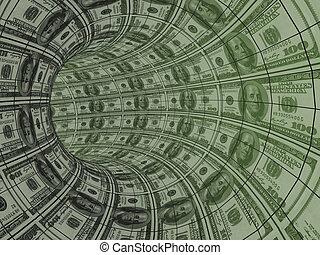 dinero, recursos, movimiento