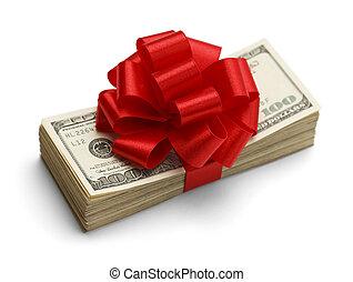 dinero, regalo